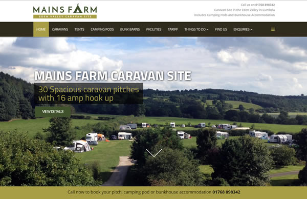 Mains Farm Caravan Site